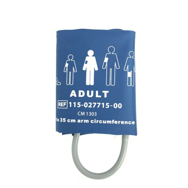 Mindray Reusable Bladderless Adult Blood Pressure Cuff REF 115-027715-00 25-35cm