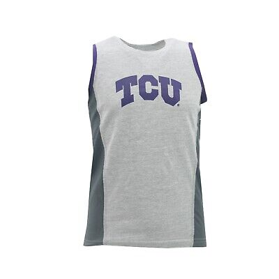 TCU Horned Frogs Official NCAA Apparel Youth Kids Size Tank Top T-Shirt New Tags - Tcu Apparel