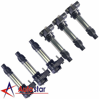 Set of 6 Ignition Coils For 08-13 V6 3.6L LaCrosse Camaro CTS Impala Terrain SRX, used for sale  USA