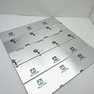 .25 Thick Cast Aluminum Mic-6 Alcoa Plate 4.875 X 28.125 Qty 5 Sku 151063