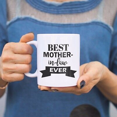 Best Mother In Law Ever Mug Mothers Day Or Christmas Gift For