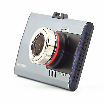 "1080P HD 3"" LCD Night Vision 170° CCTV In Car DVR Accident Camera Video Recorder"