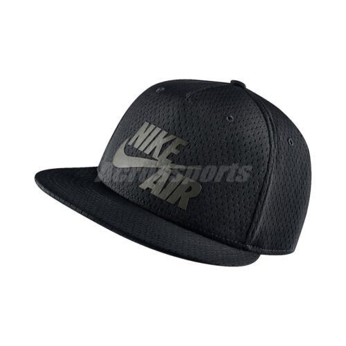 3304eb41be500 ... czech upc 666032103227 product image for nike air pivot true black grey  mens snapback hat cap
