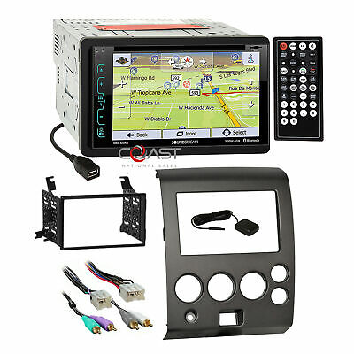 - Soundstream Bluetooth GPS Radio Dash Kit Harness for 04-07 Nissan Armada Titan