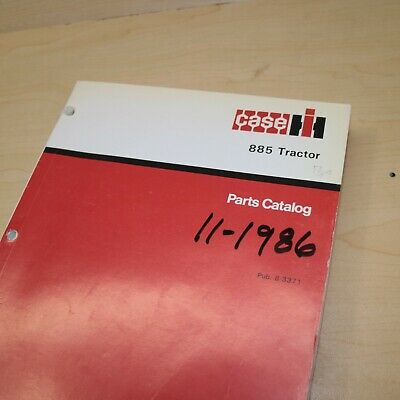 Case Ih International 885 Tractor Parts Manual Book Spare Catalog Farm 1986 List