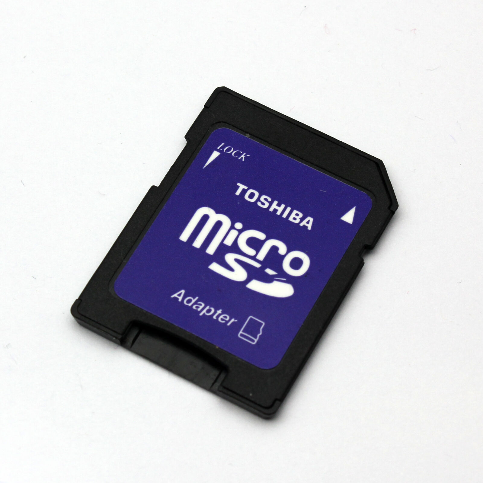 Details about 10 pcs of TOSHIBA MicroSDXC TF to SD Card Adapters  Converter,MicroSDHC Adapters