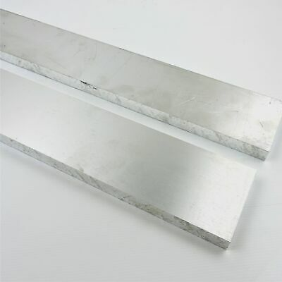 .75 Thick 34 Aluminum 6061 Plate 3.875 X 12 Long Qty 2 Sku 176246