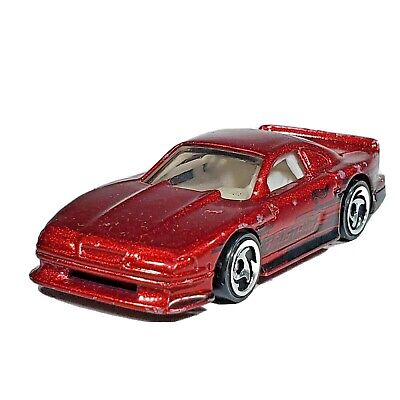 Hot Wheels Mustang Cobra Red Car Mainline Ford Shelby 2000 India Loose
