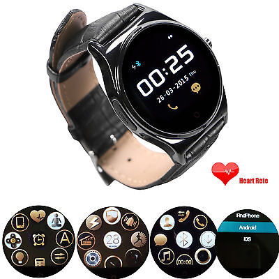 Bluetooth Smart Watch Heart Rate Monitor For Android Samsung Note 9 8 S10 S9 IOS