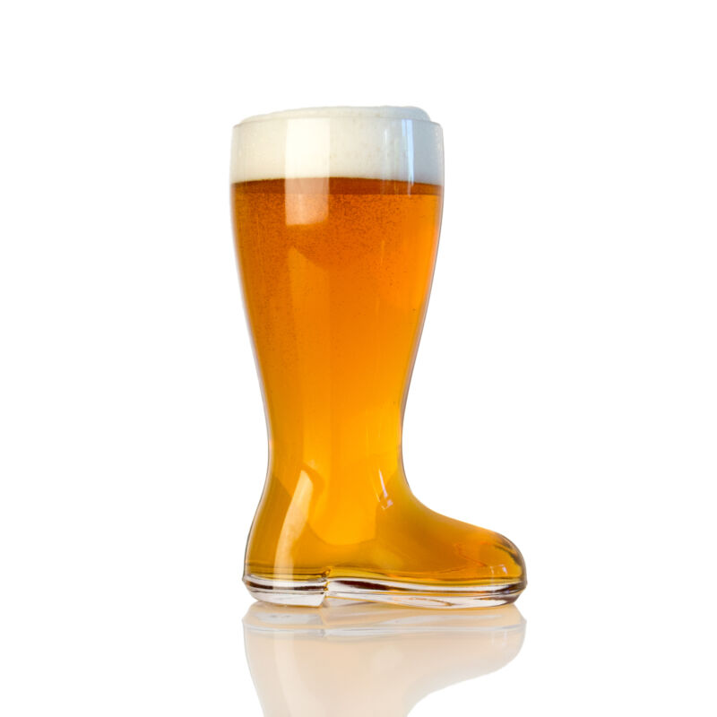 Domestic Corner - Das Boot - 1 Liter Large Beer Boot Mug - Holds Over 2 Beers