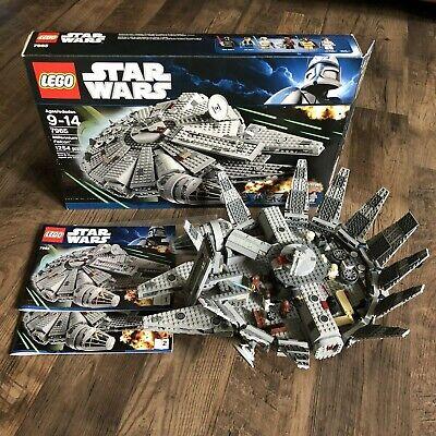 Complete Lego Set 7965 Star Wars Millennium Falcon Darth Vader Princess Leia