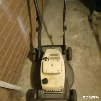 2 stroke lawn mower