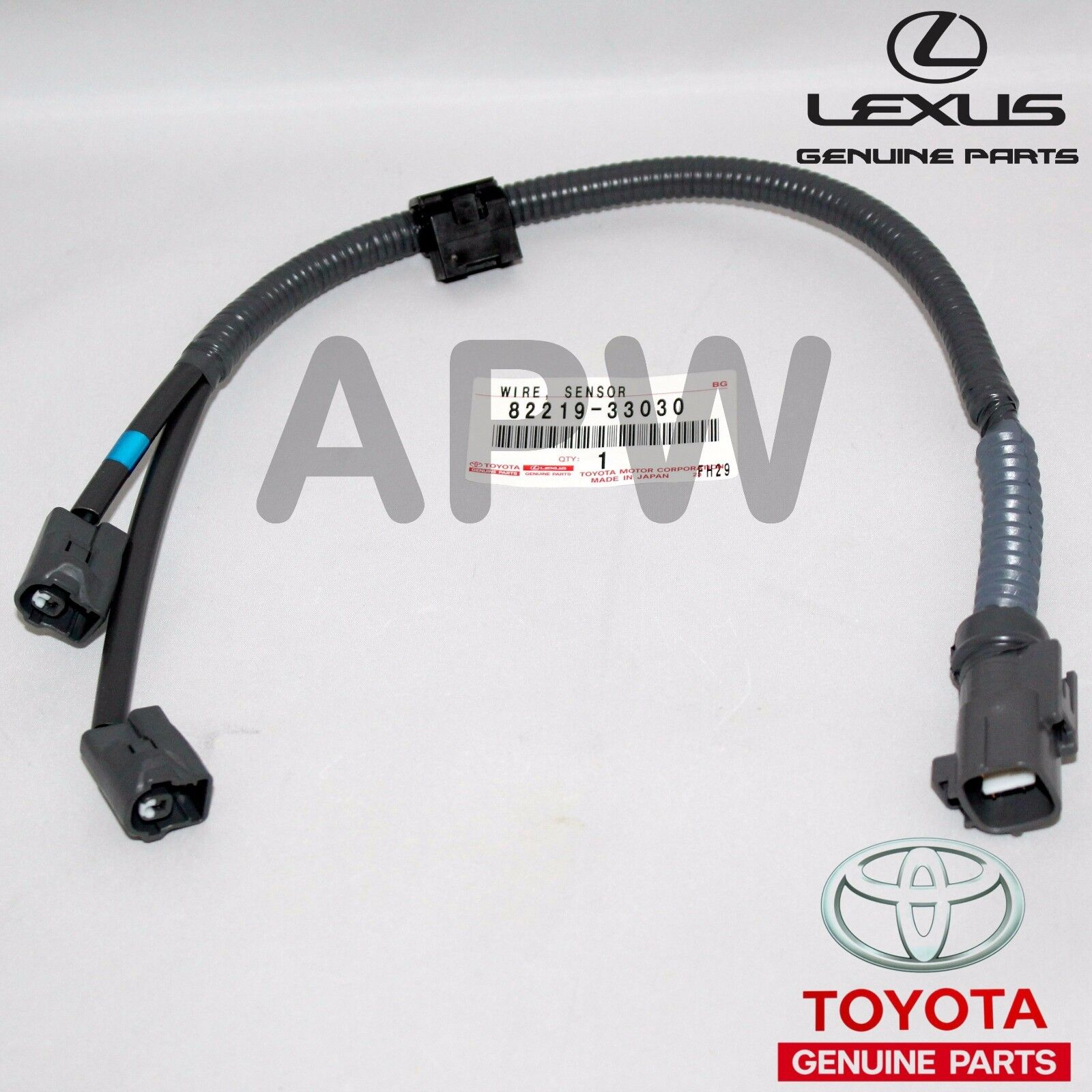 New Genuine Lexus Toyota Knock Sensor Wire Harness 30l Oem 82219 Wiring Parts 3 Of See More