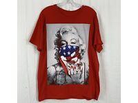 Marilyn Monroe Red Bandana Cali Gangster Chicano Poster Wall Art Decor 18 x 24