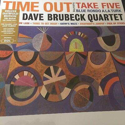 The Dave Brubeck Quartet 'Time Out' 180g Vinyl LP - Deluxe Gatefold NEW & SEALED