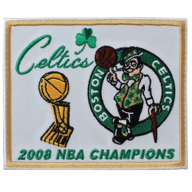 2008 NBA Finals Champions Boston Celtics Logo Jersey Patch