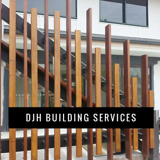 DJH Building Services - all building work and handyman jobs