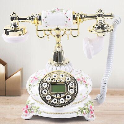 European Luxury noble Antique phone Retro Vintage Home corded telephone