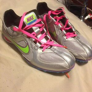 Ladies size 6 Nike track spikes