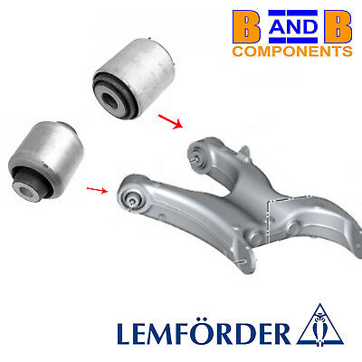 Rear Left+Right 2 Pitman Arms Link Rod Trailing Arm to Crossmember Set for BMW