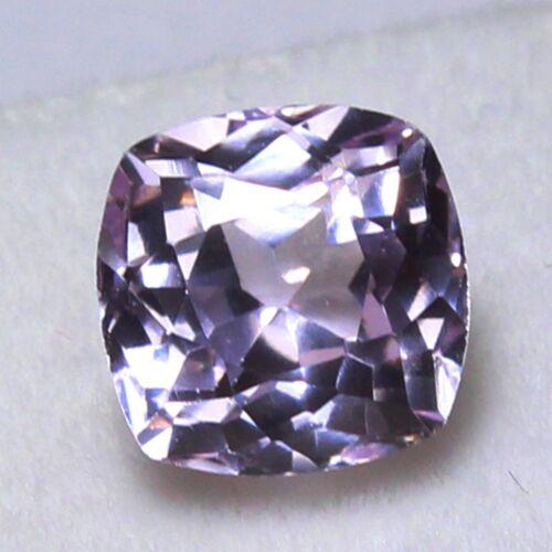 Natural 4.05 Ct Certified Unheated Brazil Pink Kunzite Loose Gemstones 8x8 mm