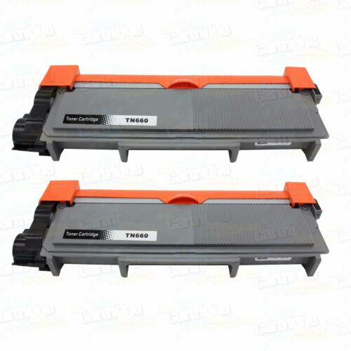 2PK TN660 Toner for Brother TN630 TN660 HL-L2340DW L2360DW L2320D L2380DW L2305W
