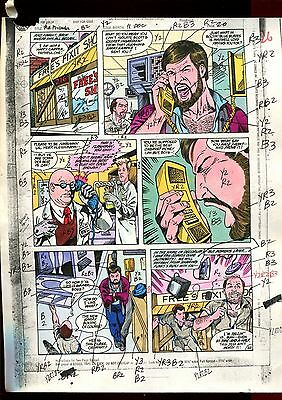 MISTER MIRACLE 11  PAGE 20 COLOR GUIDE-ORIGINAL ART-1 OF A KIND-WEIN-PHILLIPS