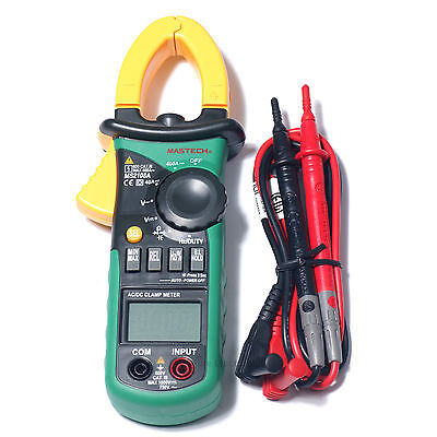 Mastech Ms2108a 4000 Counts Ac Dc Current Clamp Meter Backlight Usa Seller