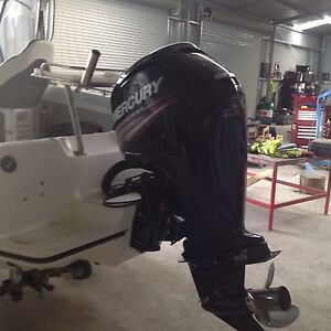 Mercury outboard commander Thrust 115hp 20 inch leg Rosedale Wellington Area Preview