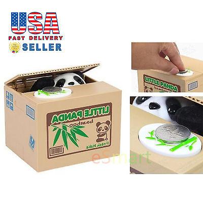 Panda Itazura Stealing Coin Bank Box Automated Cute Piggy Savings Box Gift