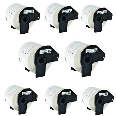 8roll Dk1202 Shipping Labels W Frame For Brother Ql-570vm 580n 650td 710w 1050n
