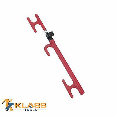 3 Way Steering Wheel Lock, Heavy Duty Anti-Theft Device for Car & - Lock Car Anti Theft Device