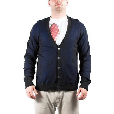 Men's PUMA x HUSSEIN CHALAYAN Mesh Knit Cardigan Black size XL $120