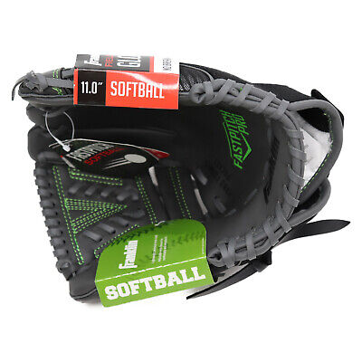 11 Inch Synthetic Fastpitch Softball (Franklin Sports Softball Glove - Fastpitch Pro - Green Right Thrower 11 inch )