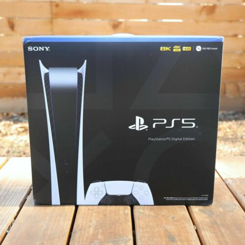 Sony PlayStation 5 DigitalEdition Console PS5 - NEW - IN HAND FAST SHIPPING! ✅