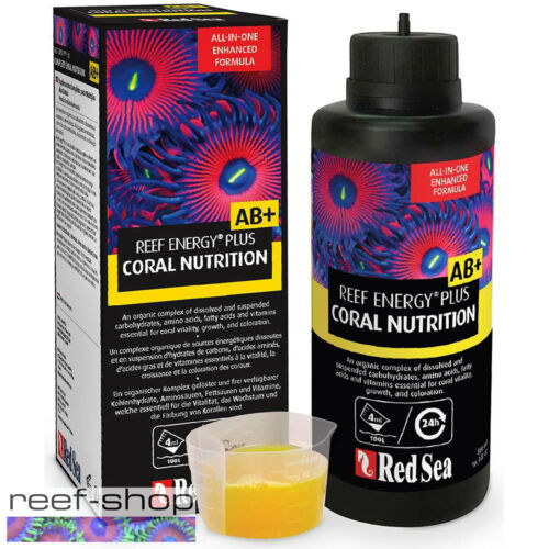 Red Sea Reef Energy Plus AB+ Coral Nutrition 500mL All In One Coral Super Food