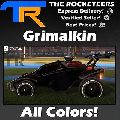 [PS4/PSN] Rocket League All Painted Grimalkin Halloween Crate Very Rare - Painting Halloween Games