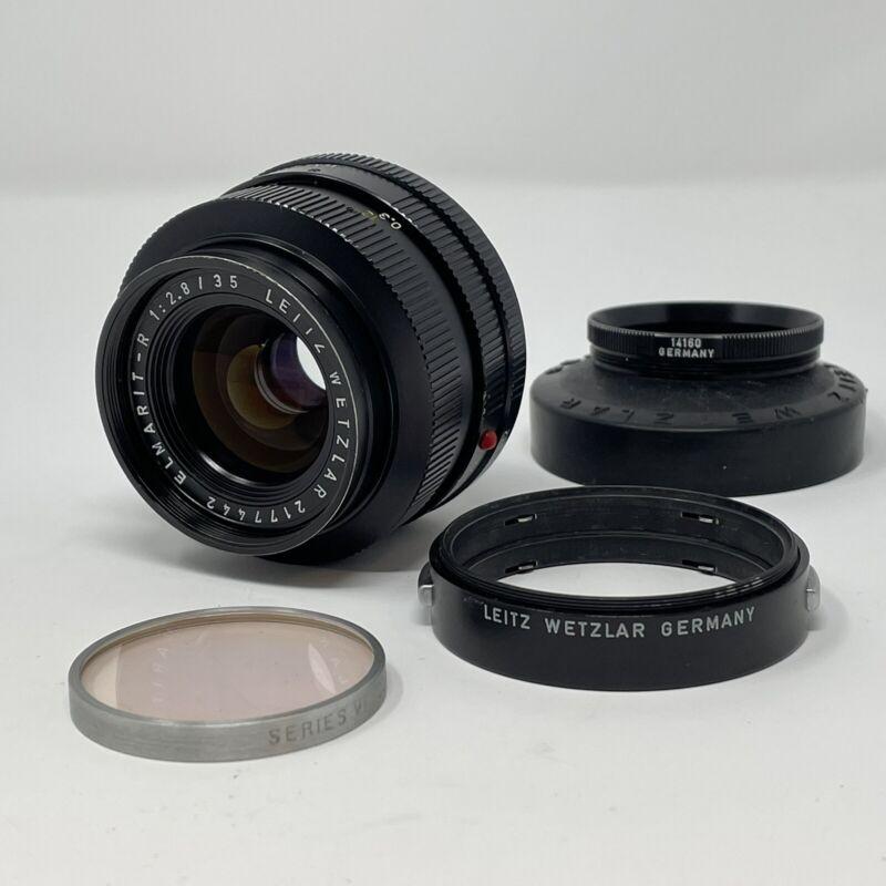 Leica 35mm f2.8 Leitz Wetzlar Elmarit-R Lens 35/2.8 Germany - Excellent