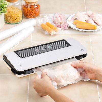 Vacuum Sealer 3 in 1 Food Free Bag Roll Starter Kit for Food Preservation Saver for sale  USA