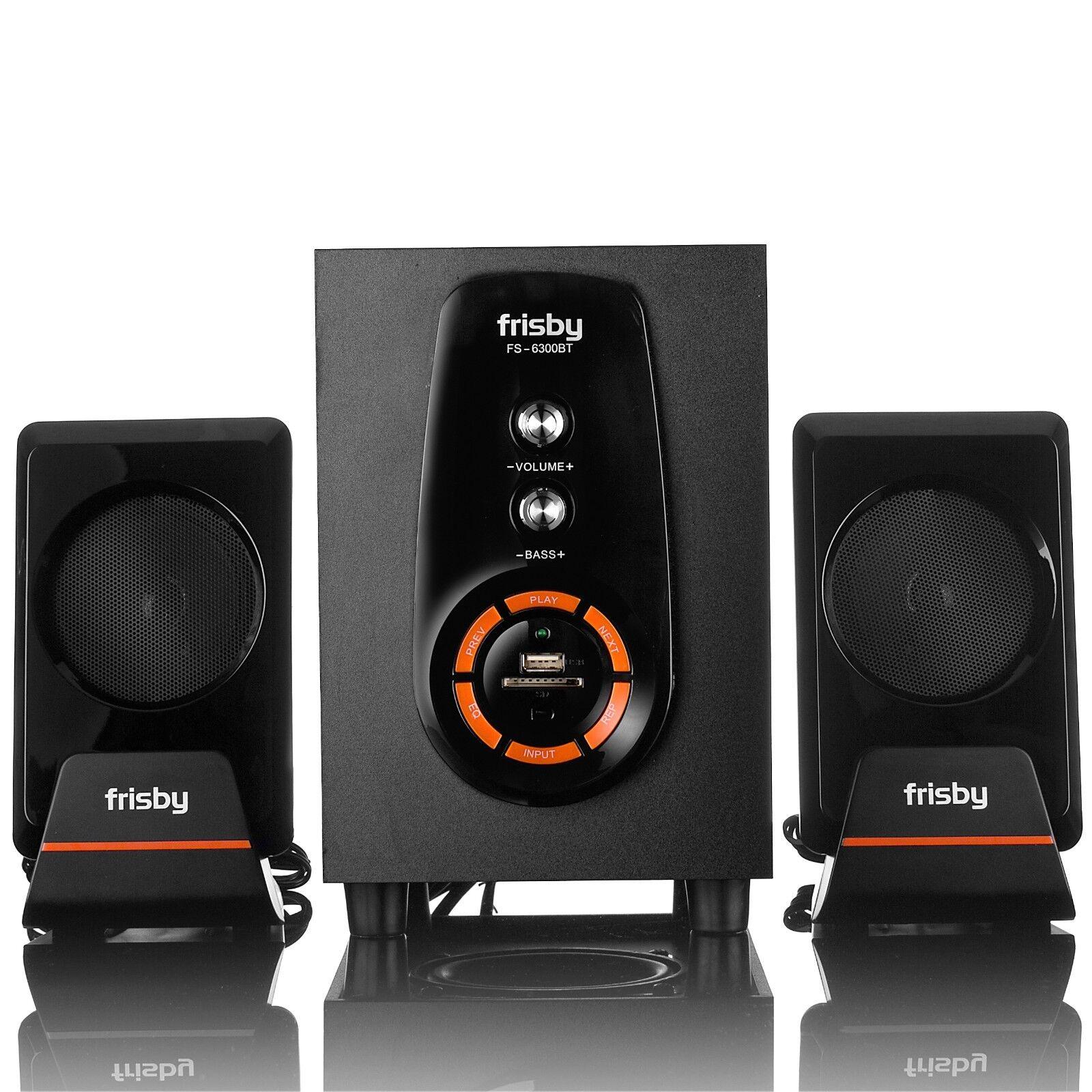Frisby FS-6300BT Bluetooth Wireless 2.1 CH Subwoofer Speaker