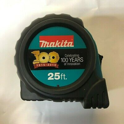 Makita 100 Year Anniversary Edition 25' Tape Measure 999TAP2 NEW
