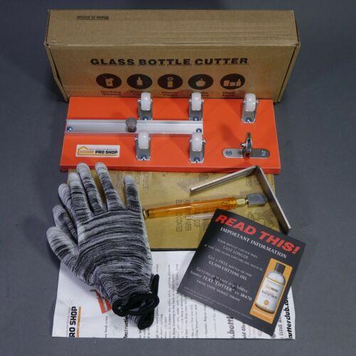 HOME PRO SHOP DIY Glass Bottle Cutter Machine Kit