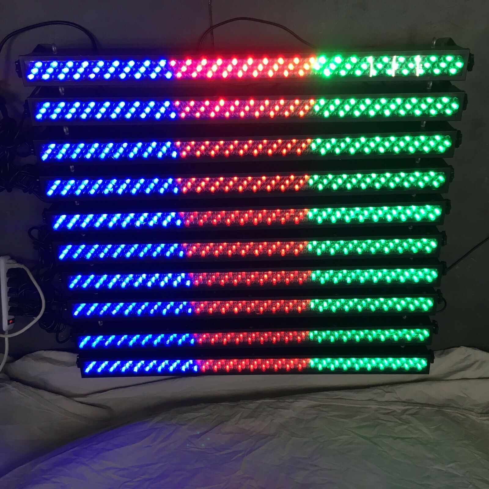 LED Wall Washer DJ Club Disco Bar DMX Light 252 10mm RGB LED USED GOOD 10 Avail - $75.00