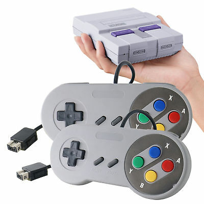 Classic Retro Controller USB Wired SNES Gamepad Joystick For PC Mac Universal (Classic Joystick For Pc)