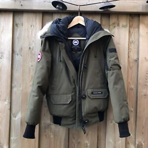Canada Goose Chilliwack Bomber Jacket Military Green (Small)