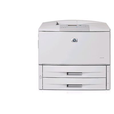 HP LaserJet 9050N Laser Printer 11X17 wide format 9050 50PPM Low page count ()