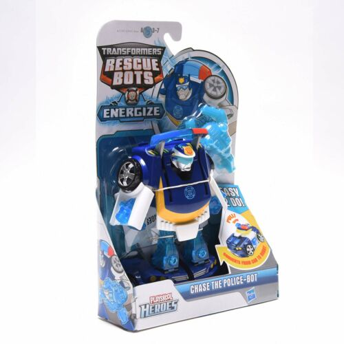 Transformers Playskool Heroes Rescue Bots CHASE THE POLICE A