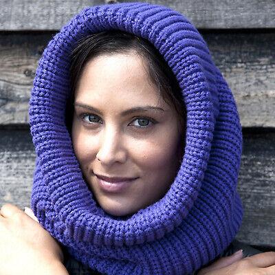Result Schal Grob Gestrickt Soft-Knit Hell Warm Gesicht Ohren Kopf Schutz Unisex Soft Knit Schal
