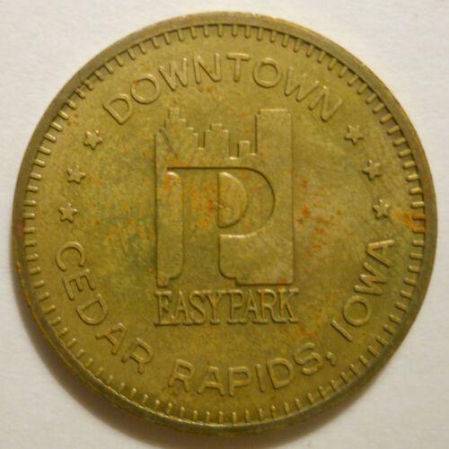 Downtown Cedar Rapids (Iowa) transit token - IA150H