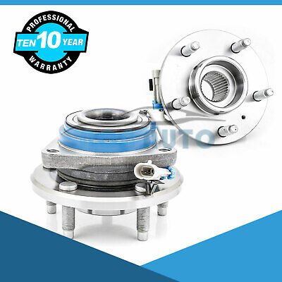 Set of 2 Front Wheel Hub Bearing Assembly For Chevy Pontiac Buick Saturn 513179